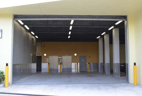 Drive-In Loading Area For Self Storage Lockers on S.W. 28th Ln in Coconut Grove, FL 33133