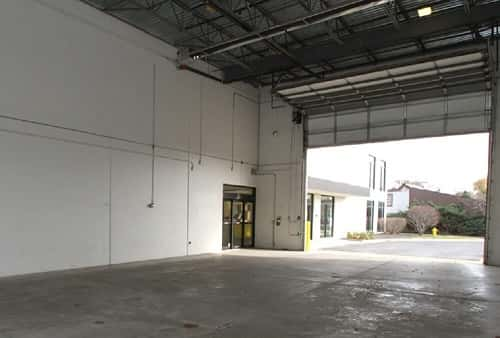 Drive-In Loading Area For Self Storage Lockers on East St Charles Road in Lombard, IL 60148