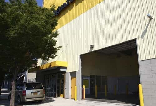 Drive In Loading Area For Self Storage Lockers On Empire Boulevard In  Brooklyn, NY 11225