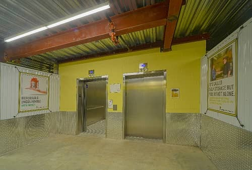 Easy Cargo Elevator Access to East Rockaway Storage Bins on Upper Floors