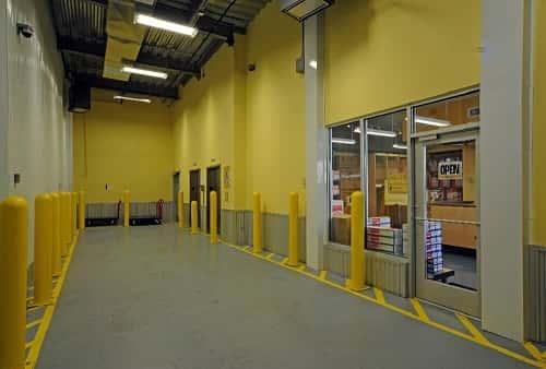Drive In Loading Bay For Self Storage Spaces On Hancock Street In Ridgewood,  New York