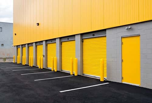 Drive Up Accessible Self Storage Lockers On Frankford Avenue In Philadelphia Pa 19134