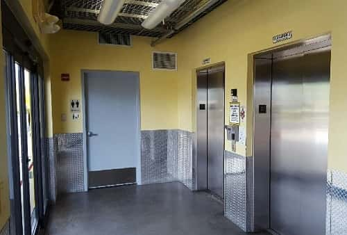 Easy Cargo Elevator Access to Miami Storage Bins on Upper Floors in Zip Code 33169