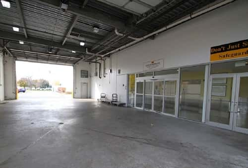 Drive-In Loading Area For Self Storage Lockers on West Algonquin Road in Arlington Heights, Illinois 60005
