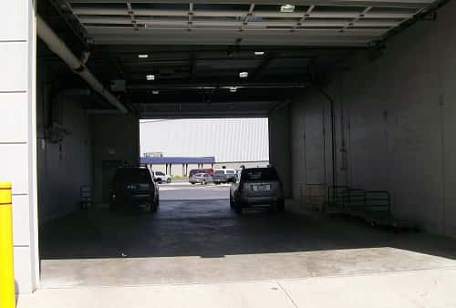 Drive-In and Covered Loading Area For Self Storage Lockers on South Harlem Avenue in Bridgeview, Illinois, 60455