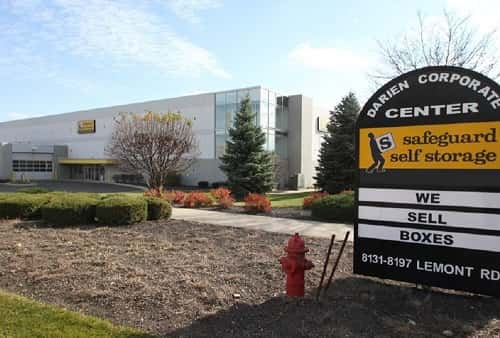 Air Conditioned & Heated Self Storage Space Located in Darien, IL on Lemont Road