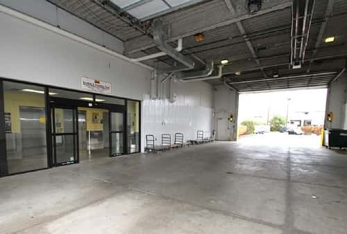 Drive-In Loading Area For Self Storage Lockers on East Northwest Highway, Palatine, IL 60074
