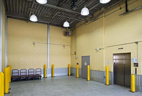 Drive In Loading Area For Self Storage Lockers on East New York Avenue in Brooklyn, New York 11212