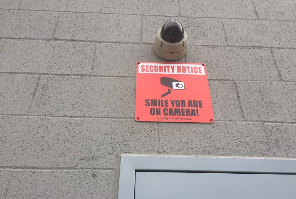 Security Camera in Self Storage Area at 499 Ocean Avenue, East Rockaway, NY 11518