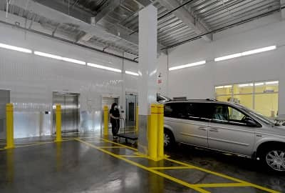 Our Drive-in Loading Bays are Designed for Hassle Free Loading and Unloading Your Vehicle