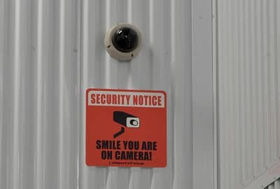 Security Camera in Self Storage Area at 1522 Old Country Road, Plainview, New York